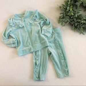 Baby Girl Ruffle Track Suit